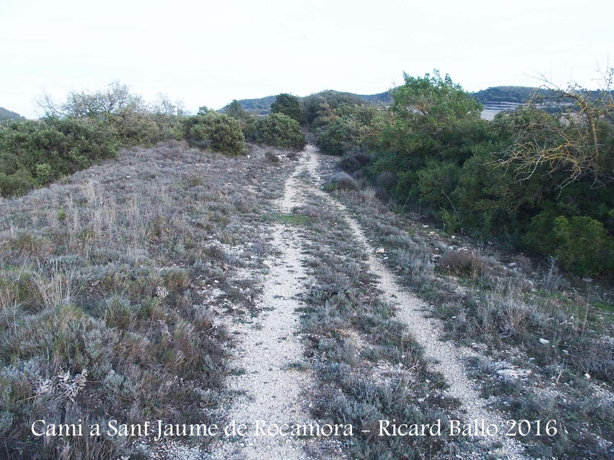 Camí a l'Església de Sant Jaume de Rocamora – Pontils
