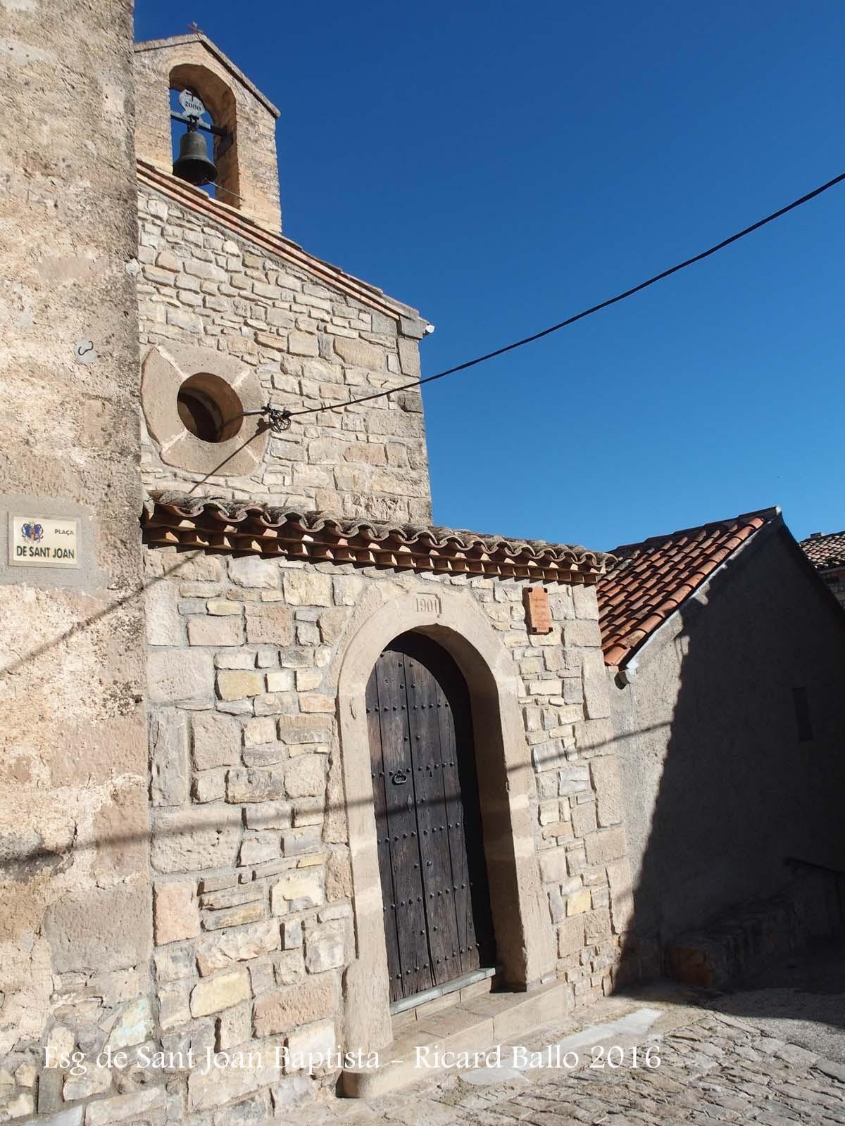 Església de Sant Joan Baptista – Santa Coloma de Queralt