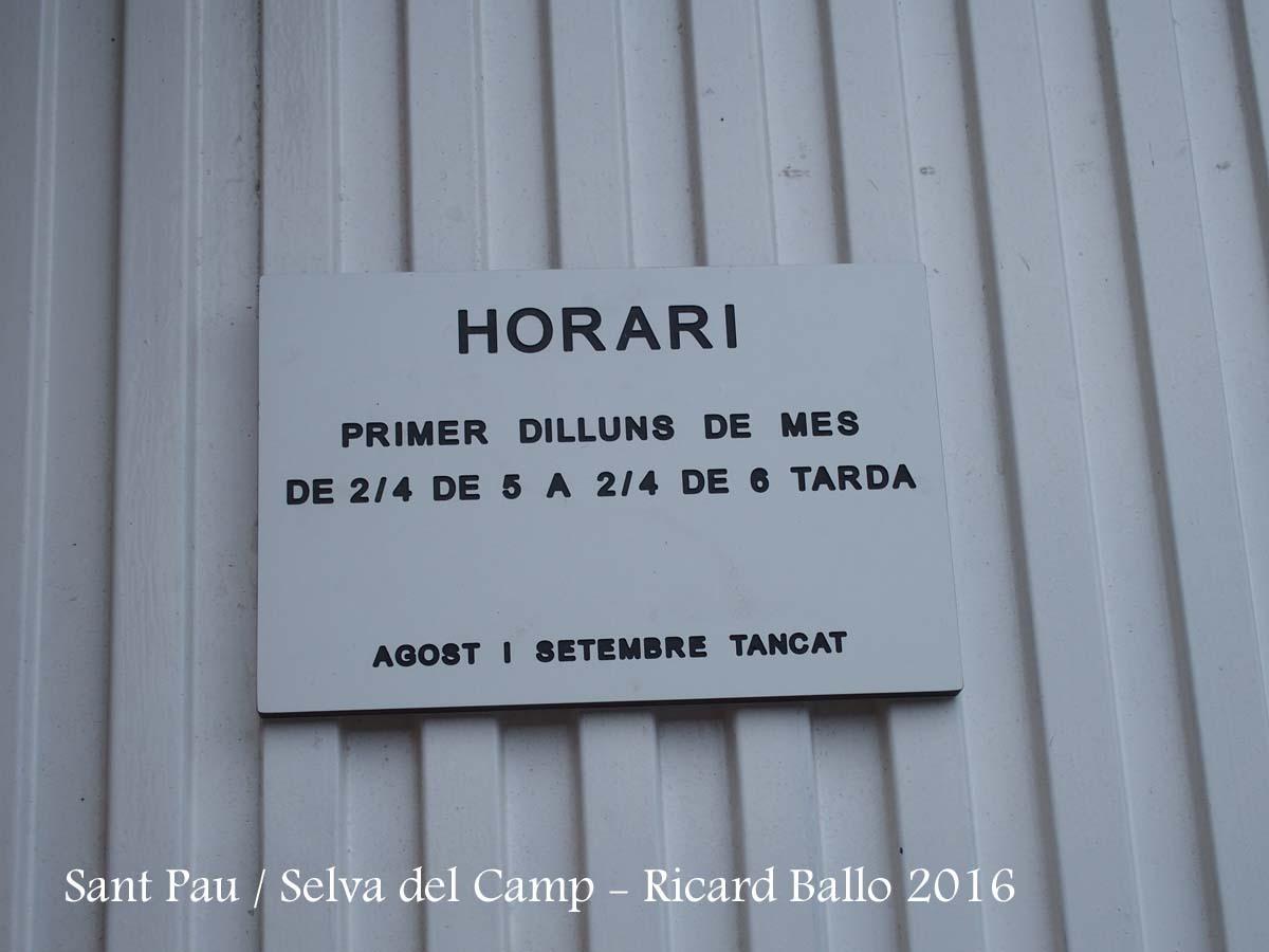 Església de Sant Pau – Selva del Camp