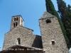 Església de Sant Pere de Llorà – Sant Martí de Llémena - La torre de la dreta és un Comunidor