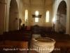 Església de Santa Agnès de Solius – Santa Cristina d'Aro - Fotografia aconseguida introduint l'objectiu de la màquina de retratar per una obertura de la porta d'entrada, doncs l'església estava tancada