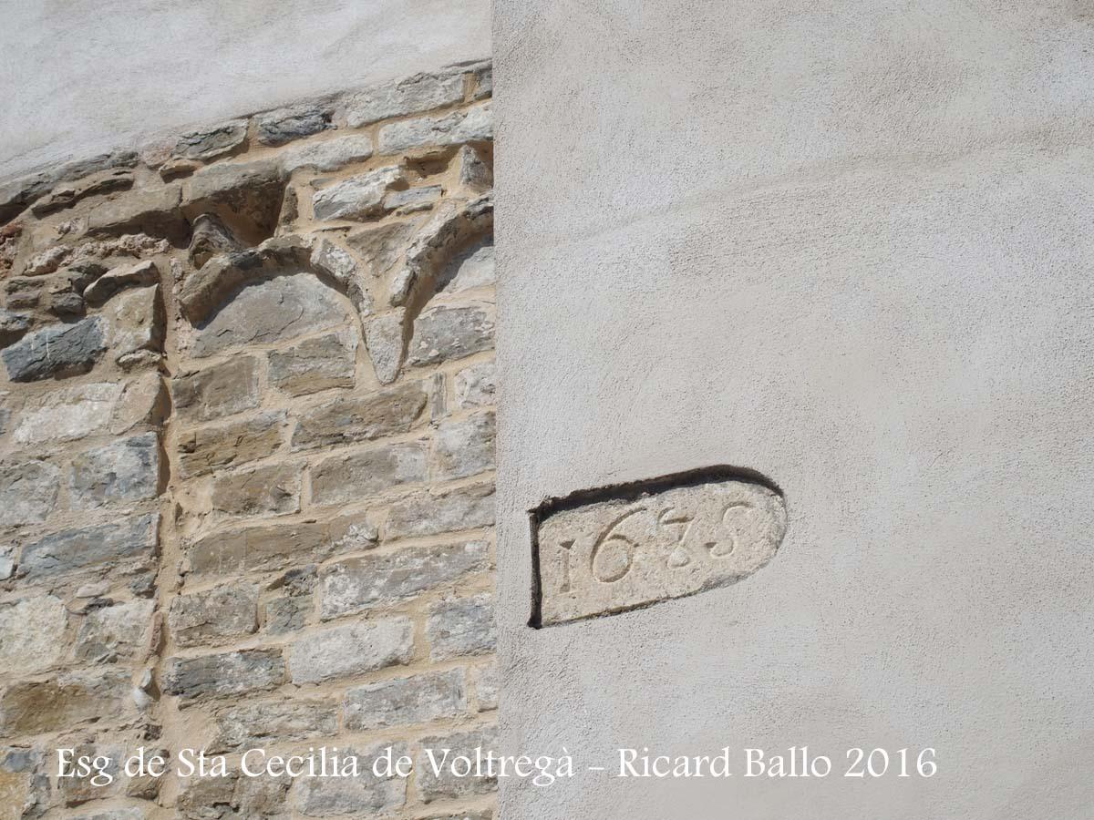 Església de Santa Cecília – Santa Cecília de Voltregà