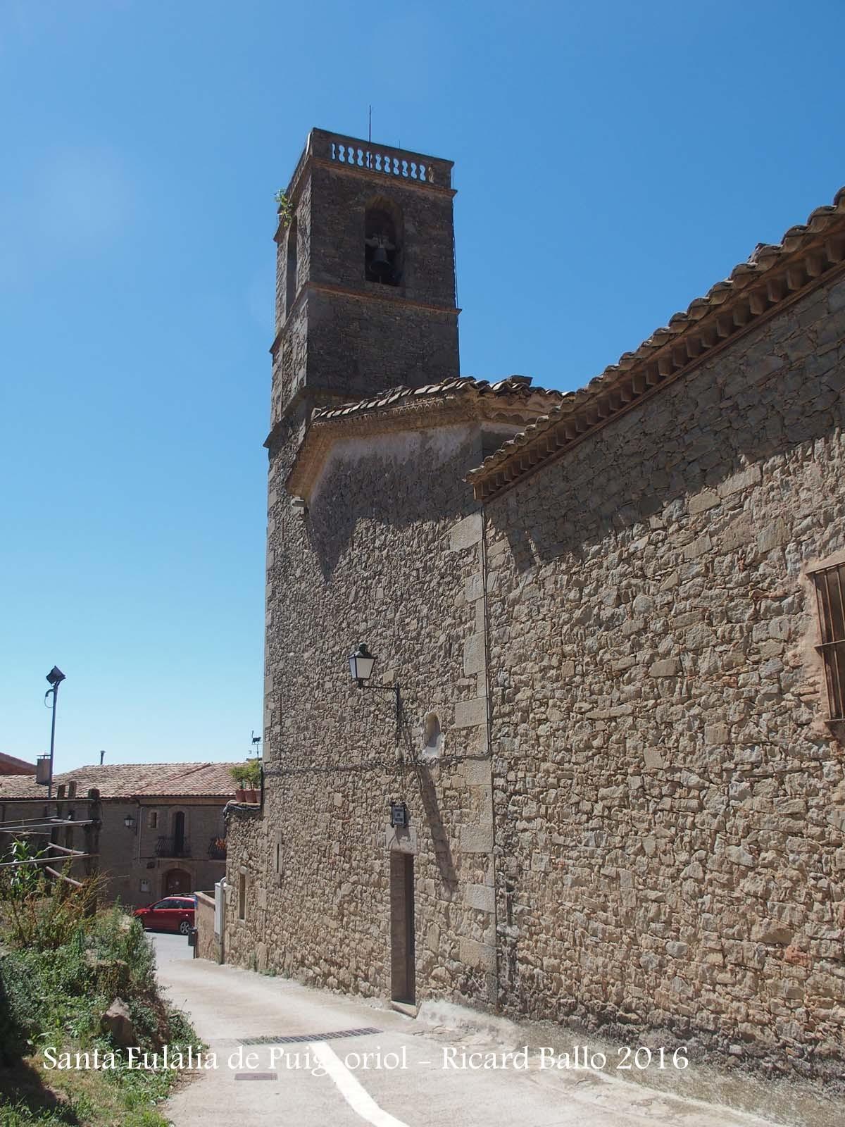Església de Santa Eulàlia de Puig-oriol – Lluçà
