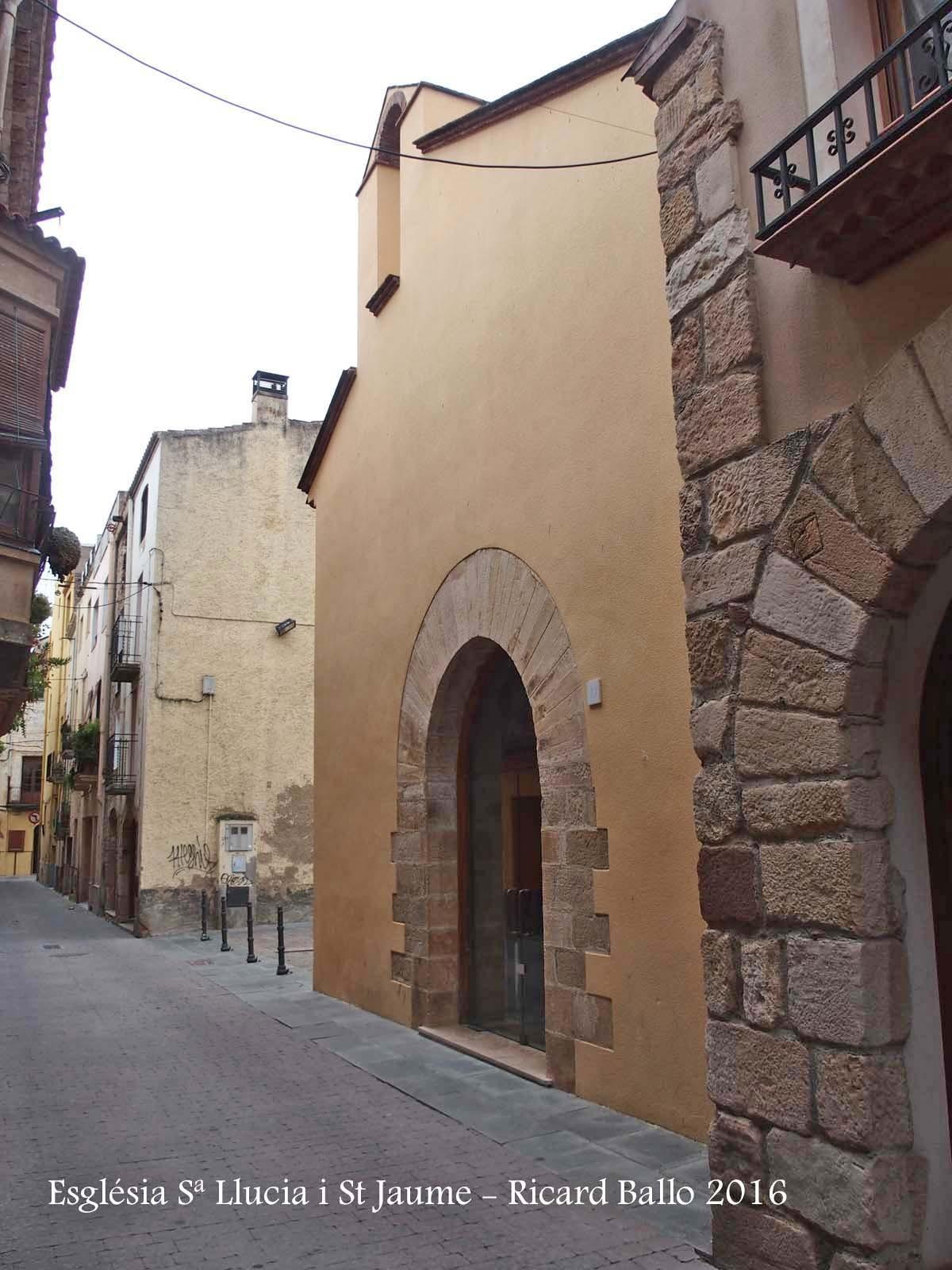 Església de Santa Llúcia i Sant Jaume – Selva del Camp