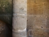 Església parroquial de Sant Medir de Cartellà – Sant Gregori - Detall de la base de l'escala de cargol