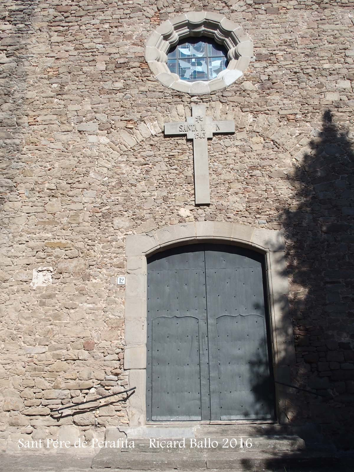 Església parroquial de Sant Pere de Perafita – Perafita