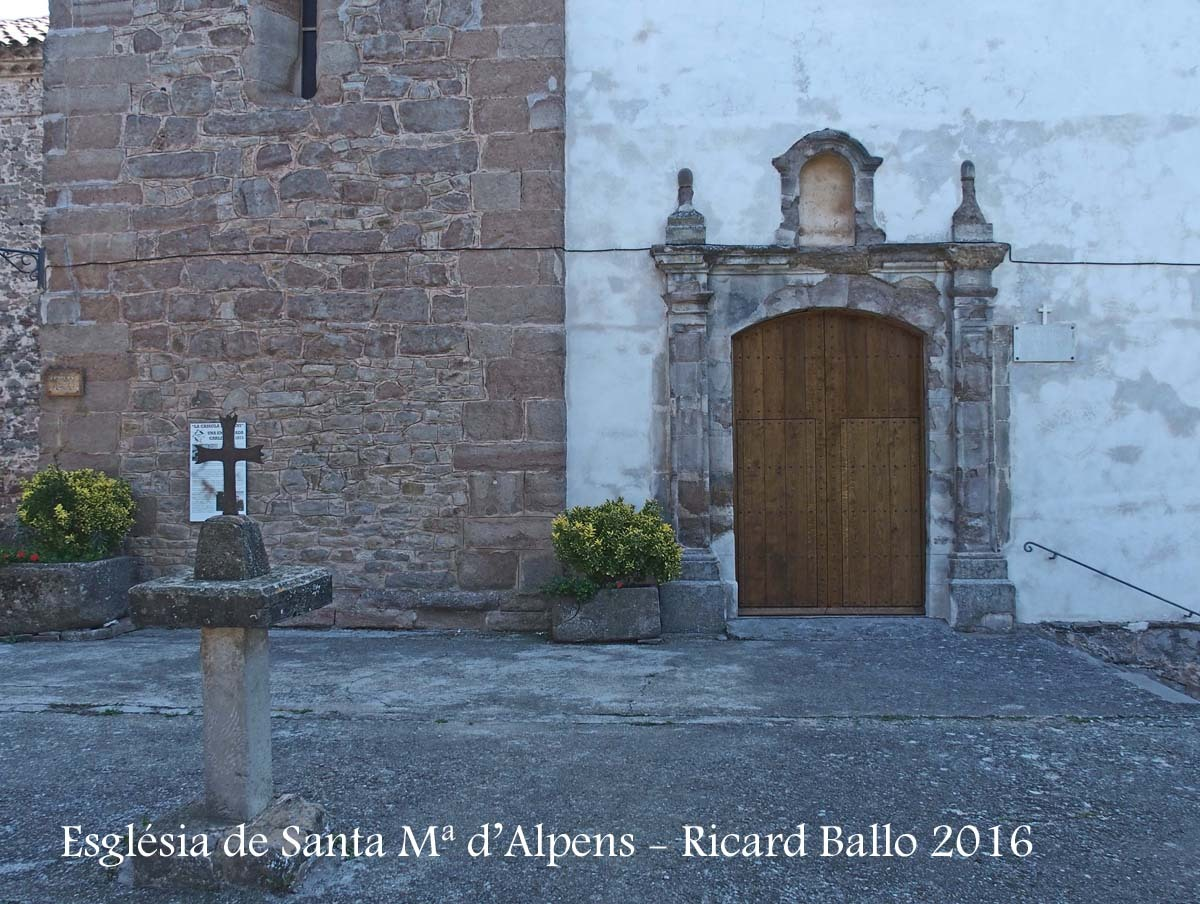 Església parroquial de Santa Maria – Alpens