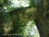 """Església parroquial de Santa Maria de Ginestar – Sant Gregori Des de la part superior de la capella """"s'accedeix a l'últim pis del campanar per un petit pont de pedra"""""""