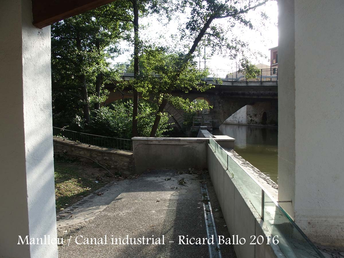 Manlleu - Canal industrial