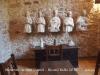 Monestir de Sant Daniel - Girona - Estàtues recuperades després d'haver estat enterrades durant la guerra civil espanyola (1936 / 1939)
