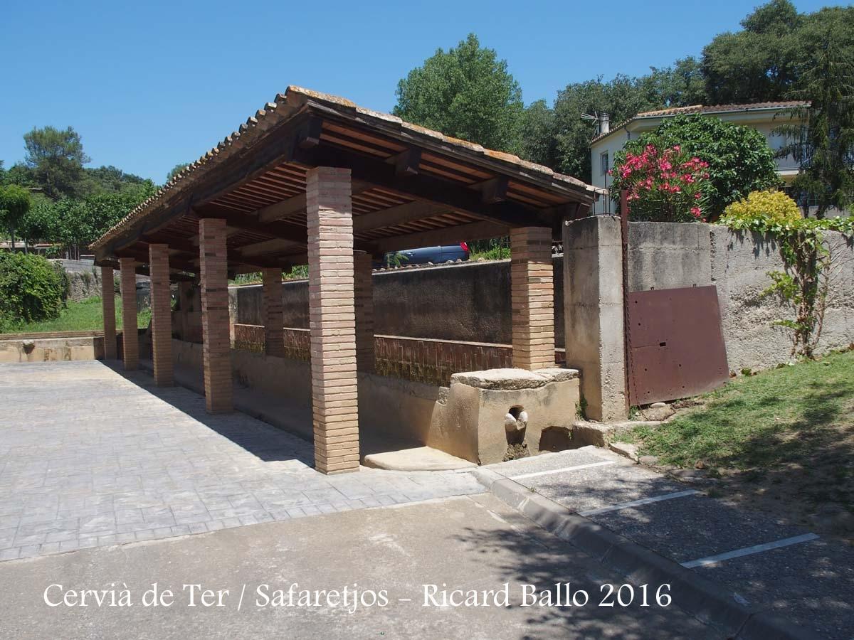 Monestir de Santa Maria – Cervià de Ter - Safaretjos públics