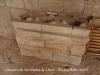 Claustre del Monestir de Santa Maria de Lluçà - Antiga cuina de llenya (O pot ser més bé, de carbó). Evidentment, aquest no és el seu lloc apropiat.