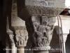 Escultures del claustre de Santa Maria de Lluçà