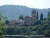 Monestir de Santa Maria de Lluçà – Lluçà - Vista general, entorn