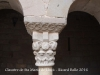 Escultures del claustre del Monestir de Santa Maria de Lluçà
