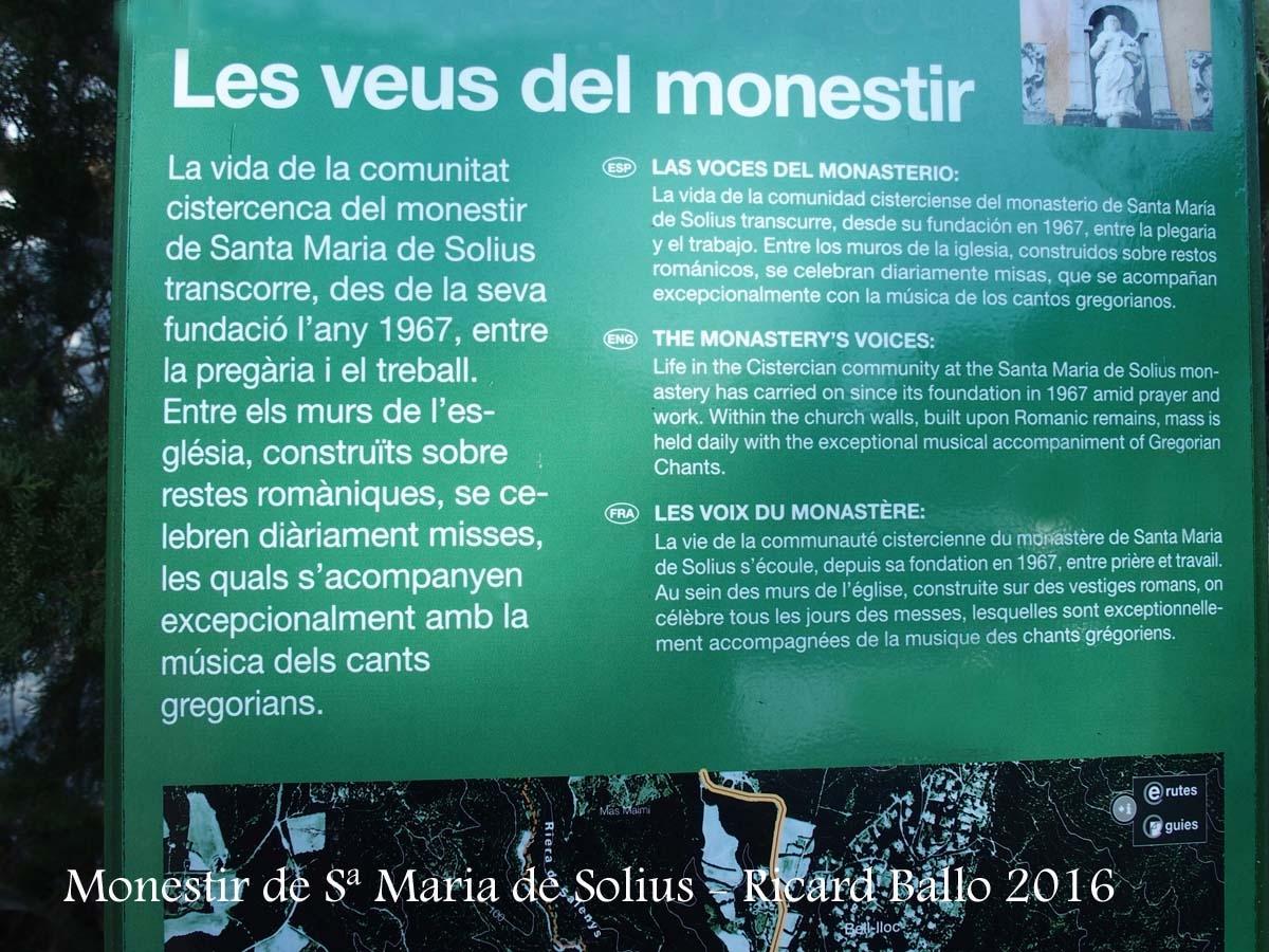 Monestir de Santa Maria de Solius – Santa Cristina d'Aro