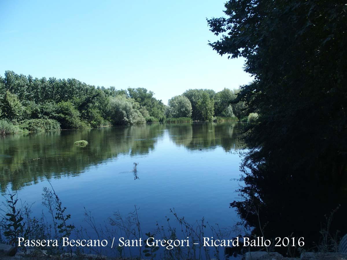 Passera entre Sant Gregori i Bescanó – Bescanó