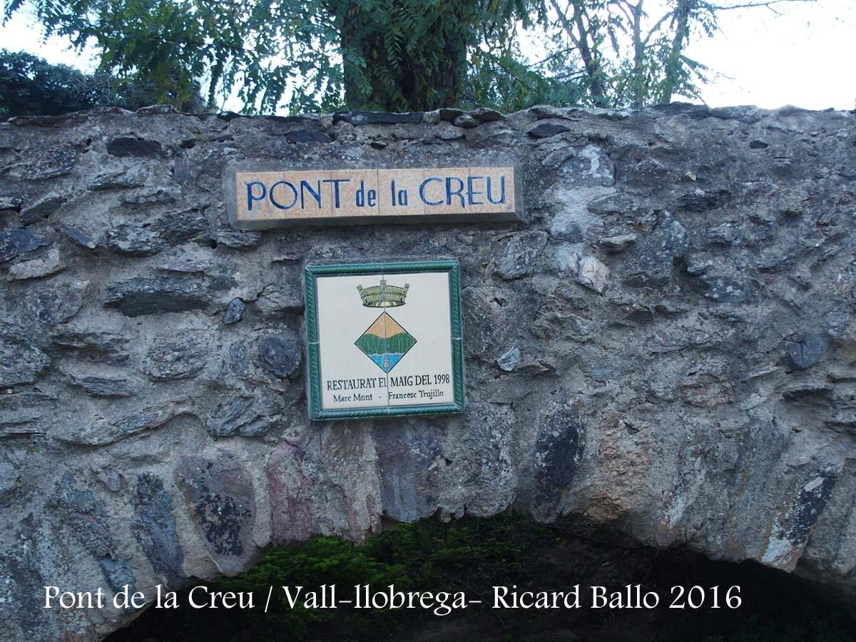 Pont de la Creu – Vall-llobrega