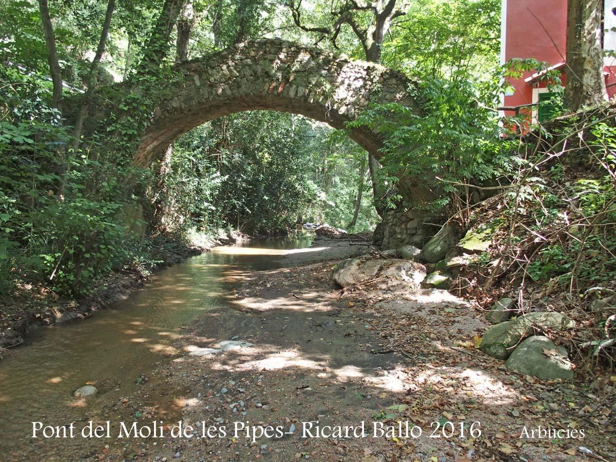 Pont del Molí de les Pipes – Arbúcies