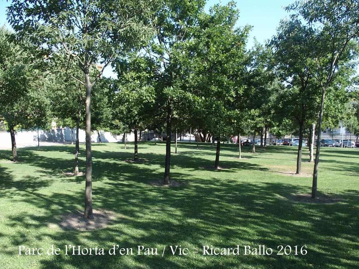 Vic - Parc de l\'Horta d\'en Pau