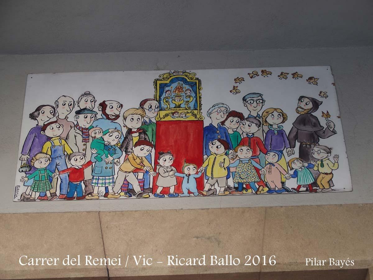 Vic - Una obra de Pilarín Bayés
