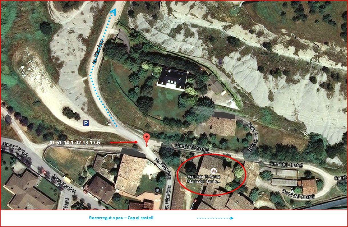 Santuari de Lourdes-Tona-Itinerari - Part Final