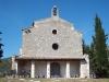 Santuari de la Mare de Déu de Cérvoles – Os de Balaguer - Façana davantera - Porxo