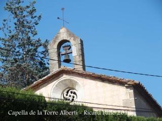 Capella situada en terrenys de la Torre Albertí – Llagostera