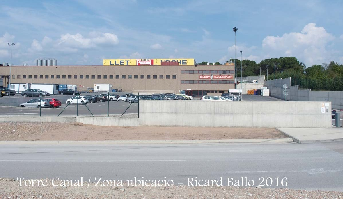 Torre Canal – Gurb - Zona industrial