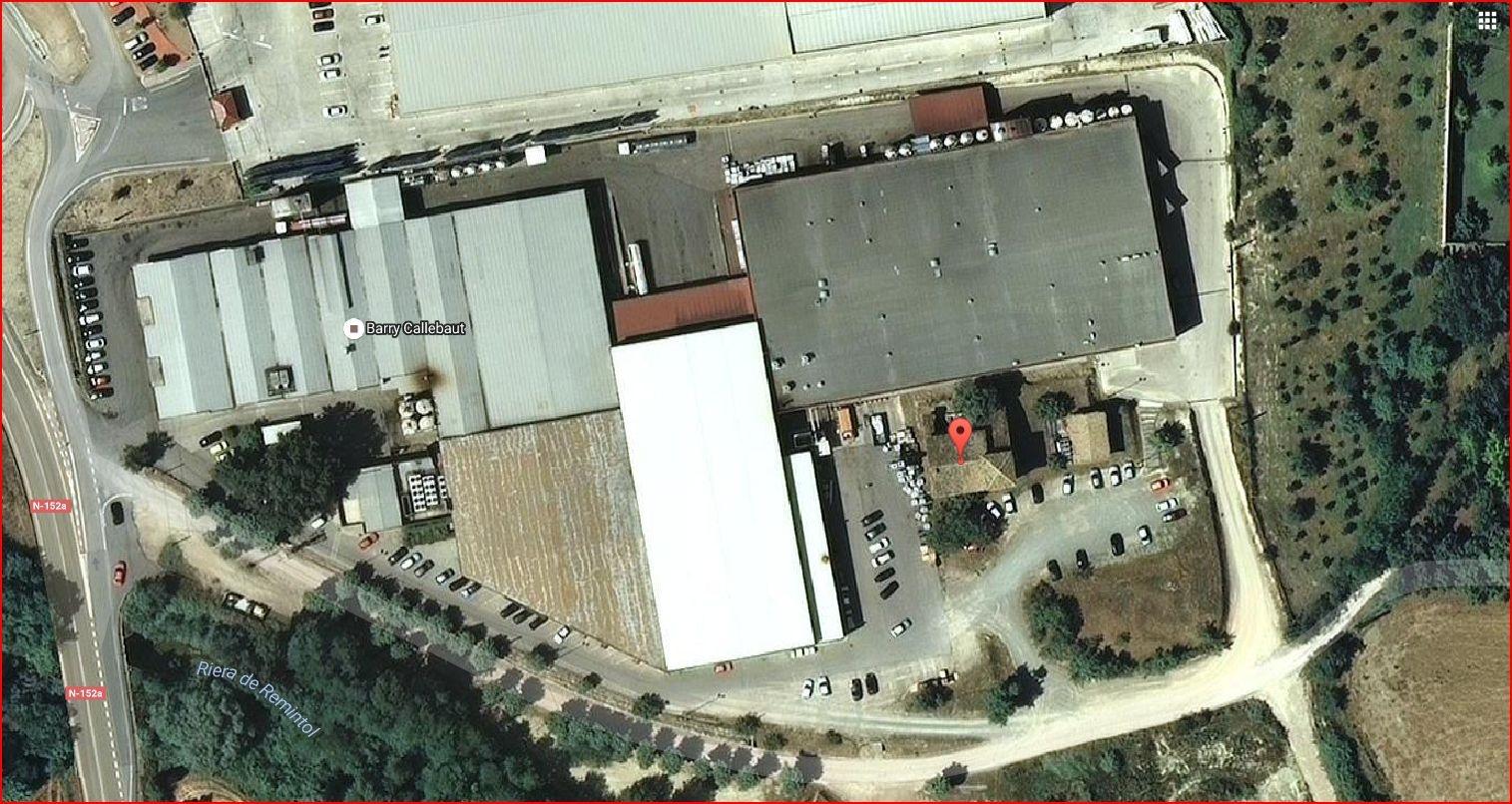 Torre Canal – Gurb - Captura de pantalla d'un mapa de Google Maps