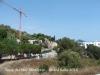 Torre del Mas Miralpeix – Sitges - La grua que apareix a la fotografia, no té res a veure amb aquesta torre