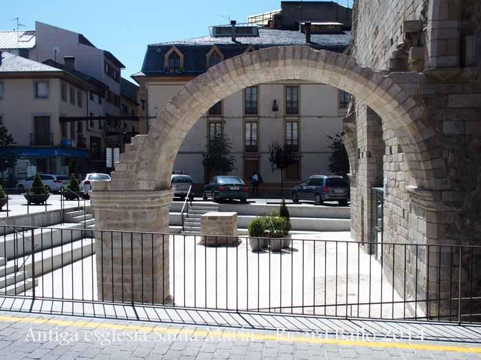 Antiga església de Santa Maria - Puigcerdà