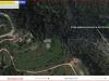 Antiga església parroquial de Sant Esteve de Castellar Vell – Castellar del Vallès - Itinerari - Captura de pantalla de Google Maps, complementada amb anotacions manuals.