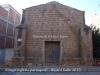 Antiga església parroquial – Vilanova de la Barca - Façana carrer Raval de la Creu
