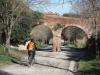Aqüeducte de Canaletes – Cerdanyola del Vallès - Tram situat sobre el camí de Can Catà
