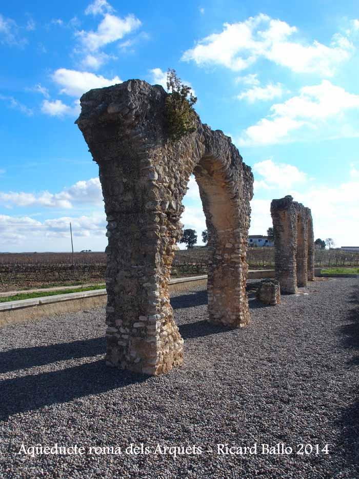 Aqüeducte romà dels Arquets – Sant Jaume dels Domenys