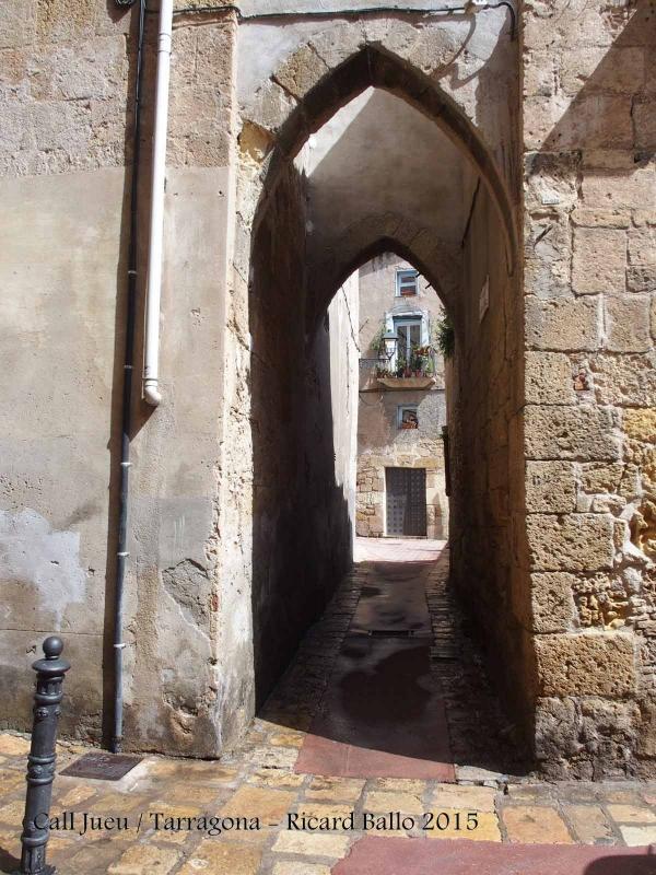 Arcs apuntats – Tarragona - Call jueu