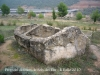 Baronia de Rialb-Diposit de pedra situat al costat del Dolmen de Sols del Riu.
