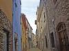 Un carrer de Begur.