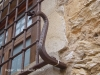 Begur: Treball de forja en una finestra.