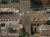 Vista de les torres de Can Marquès i Ca n\'Armanac, des del castell de Begur.