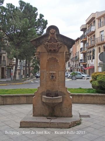 Bellpuig - Plaça de Sant Roc