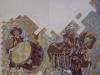 Berga - Detall d'un mural sobrre la Patum