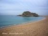 Blanes - Passeig Marítim - Sa Palomera, considerada l\'inici de la Costa Brava..