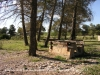 Camí al castell d'Almudèfer - Zona de pícnic.