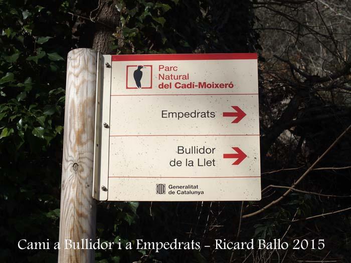 Camí als Empedrats i al Bullidor