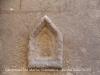 Campanar de Santa Maria – Vilafranca del Penedès - A l'exterior de l'absis, a tocar del campanar,  es conserva la primera pedra de la reconstrucció, amb una inscripció gravada.