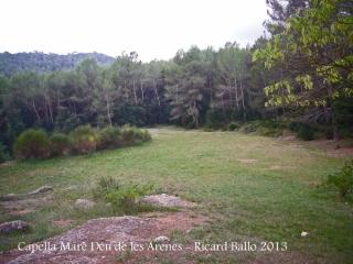Capella de la Mare de Déu de les Arenes – Castellar del Vallès - Entorn.