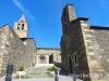 Al fons i a l'esquerra, Santa Cecília. A la dreta, la Capella de la Mare de Déu de l'Esperança – Bolvirl fons i a