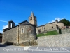 En primer terme, a l'esquerra, la Capella de la Mare de Déu de l'Esperança – Al fons Santa Cecília - Bolvir